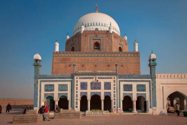 Hazrat Bahauddin Zakariya shrine given washing