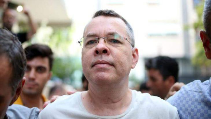 US pastor detained in Turkey back on American soil