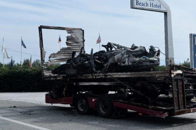Greek 'migrant-smuggling' car crash kills 11