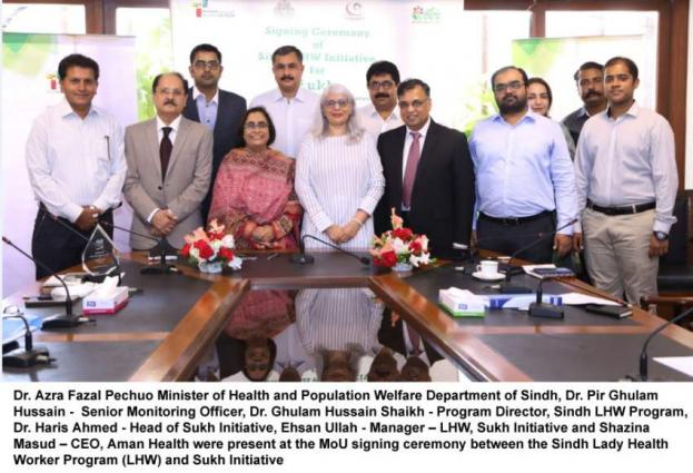 MoU Signed For Extension Of LHW Program With Sukh Initiative