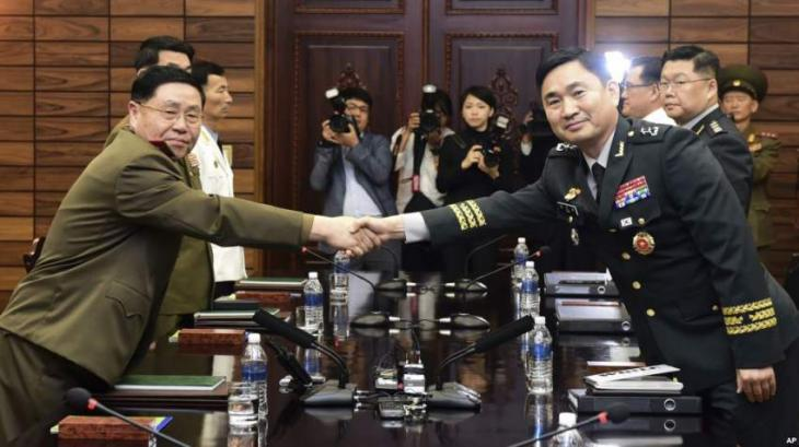 North, South Korea hold talks to implement military pact to reduce tensions