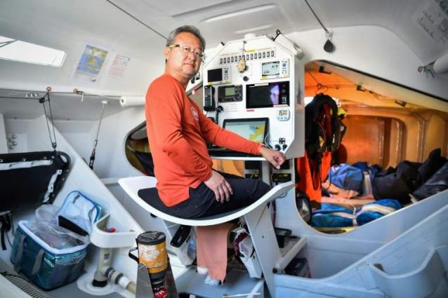 Japanese skipper Kitada ready for Route du Rhum
