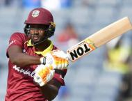 West Indies bat against India in fifth ODI