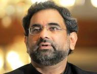 Shahid Khaqan Abbassi takes oath as MNA