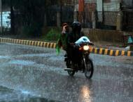 KP receives rain, hailstones with gusty winds