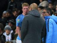 City can survive without injured De Bruyne - Guardiola