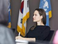 Angelina Jolie visits  to call for protection for Yemeni refugees ..