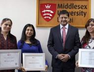 Middlesex University Dubai awards students with over AED25 millio ..