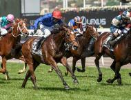 Britain's Cross Counter ends Goldolphin Melbourne Cup drought