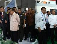 Ministry of Defence delegation visits Indo Defence 2018 Expo