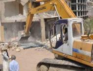 Over 100 illegally constructed shops removed in anti-encroachment ..