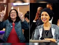 US mid-term polls elect record number of females, including two f ..