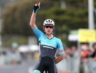 Australian cyclist wins 5th stage of Tour de Singkarak in West Su ..