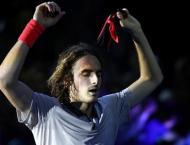 Tsitsipas shrugs off freak injury to reach Next Gen final