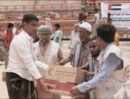 ERC distributes food supplies to people with special needs in Yem ..