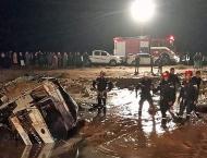 Floods in Jordan kill 11, force tourists to flee Petra