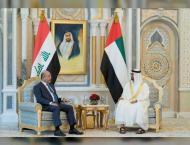 Abu Dhabi CP, Iraq President review ties, discuss regional develo ..
