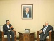Syrian Foreign Minister, Senior Iran Aide Discuss Constitutional  ..