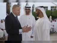 Mohamed bin Zayed receives Abu Dhabi CEO Roundtable attendees