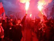 Three People Injured at March Honoring Centenary of Polish Indepe ..