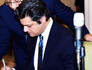 Economy out of crisis, trade deficit declining: Hammad Azhar