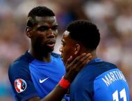 Martial, Pogba ruled out of key France Nations match