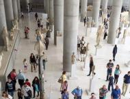 Greek museums, archaeological sites see growing visitors, revenue ..