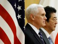 Pence Hold Talks in Tokyo, Discuss Denuclearization of Korean Pe ..