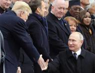 Putin, Trump Did Not Discuss Exchange Visits During Recent Paris  ..