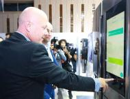 Smart home system displayed at N. Korea's IT exhibition