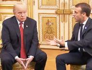 Trump Renews Criticism of Macron's Proposal to Create EU Army
