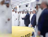 <span>Mohammed bin Rashid visits ADIPEC 2018</span>