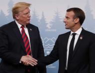 Trump criticizes Macron again over European defense remarks