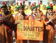 World diabetes day observed in Hyderabad