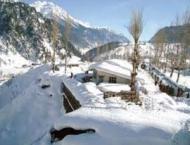Galayat receives first snowfall of winter season