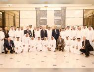<span>Hamad Al Sharqi meets with participants of 'Arab Conferen ..