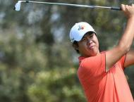 Golf: Leading first round scores at the Australian Open at The La ..