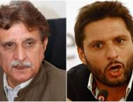 Raja Farooq Haider severely condemns Shahid Afridi's statement on ..