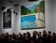Hockney sells for $90.3mn, smashes living artist record