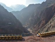 Tajikistan launches giant dam to end power shortage