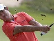 Golf: Leading second-round scores at the Australian Open at The L ..