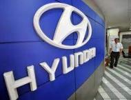 Hyundai Motor showcases Santa Fe SUV with fingerprint access in C ..