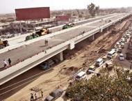 Stalled work on Benazir flyover to restart soon