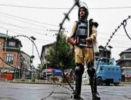 Complete shutdown in IOK against holding of panchayat polls