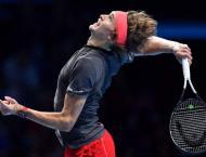 Zverev shocks Federer to reach final of ATP Finals