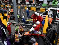 Teen driver in hours-long surgery after Macau GP horror crash
