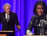 Fire victims in Hollywood thoughts as Schifrin, Tyson honored