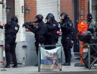 Knife-Wielding Man Attacks Police Officer in Brussels - Interior  ..
