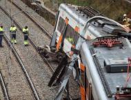 One dead, 44 hurt as landslide derails train in Spain