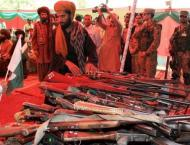 Over 70 insurgents law down arms in Quetta